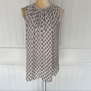 Ann Taylor LOFT sleeveless top size medium